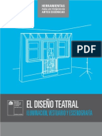 El Diseno Teatral Vol 1