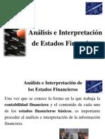 Presentacion de Analisis e Interpretacion de Estados Financieros