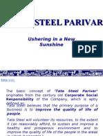 Tata Steel Parivar - CSR activity