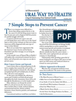 7 Simple Steps to Prevent Cancer Newsmax