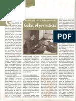 Gabo, El Periodista
