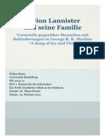Tyrion Lannister und seine Familie. Vorurteile gegenüber Menschen mit Behinderungen in George R. R. Martins _A Song of Ice and Fire.pdf