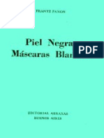 Frantz Fanon Piel Negra Mascaras Blancas Livro