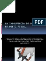La Insolvencia de Pago