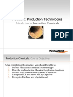 Introduction to Production Chemicals