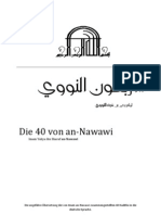 Imam an-Nawawis 40 (Deutsch - German)