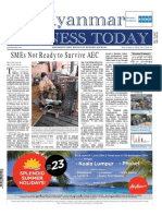 Myanmar Business Today - Vol 2, Issue 21