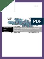 Nanotecnología en El Concreto y Cemento