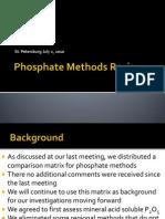 Phosphate Review Presentation