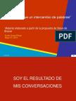 20140527 Nada Mas Que Intercambio de Palabras