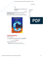 c Programming Language Interview Questions and With Answers PDF Download _ C Interview