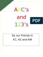 Kindergarten Abcs
