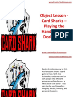 Object Lesson - Card Sharks – Playing the Hand You Are Dealt in Life