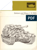 AFV Weapons Profile 61 Elefant and Maus (E100)