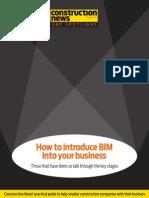 How to Introduce BIM