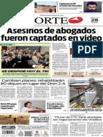 Periódico Norte edición impresa del día 28 de mayo del 2014