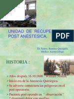 Unidad Recuperacion Postanestesica