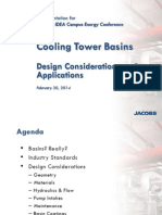 Cooling Tower Basins - Design Considerations & Applications