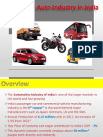 Growth of the Indian Automobile Industry