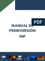 INP Ecuadorsf Manual de Preinversin v 2.0