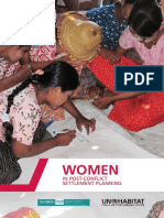 Women in Post-Conflict Settlement Planning