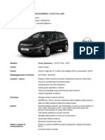 Configurazione Opel Corsa Business