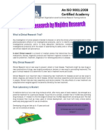 Clinical Research Brochure