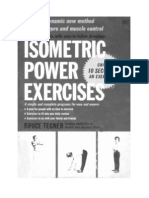 Bruce Tegner - Isometric Power Exercises - Only in 10 Seconds an Exercise