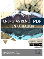 Energias Renovables en Ecuador