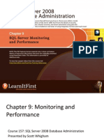 SQL Server Monitoring and Performance