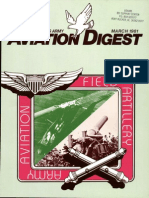 Army Aviation Digest - Mar 1981