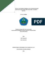 Evaluasi Kesiapan Unit Rekam Medik Menghadapi Akreditasi Rumah Sakit Tipe d Ke Tipe c Di Rumah Sakit Umum Daerah Besuki Kabupaten Situbondo