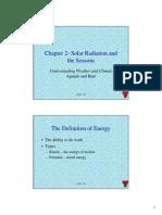 Aguado and Burt - Solar Radiation and the Seasons