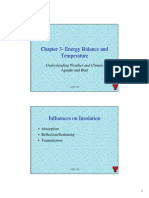 Aguado and Burt - Energy Balance and temperature