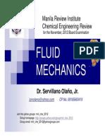Fluid Mechanics Lecture Notes 2012