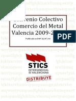 Conveniocomercio Metal 09_12 y Tablas 10