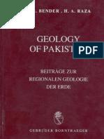 Geology of Pakistan- BENDER, RAZA_Contents