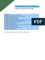 Cantidad de Empresas Por Actividad Principal 08-13