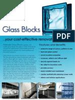 Glass Blocks Brochure