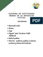 Programa Inicial
