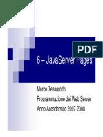 Introduzione alle JSP pages