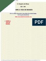 0335-0395, Gregorius Nyssenus, A Vida de Moises, PT