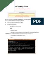Error 1045 Di PhpMyAdmin