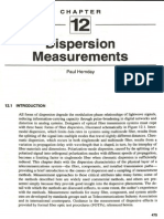 Dispersion Measurements