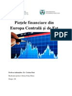 Piețele Financiare Din Europa Centrală Și de Est
