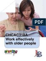 CHCAC318A Work Effectively With Older People WBK