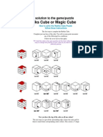 Rubiks cube method
