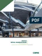 CBRE Dutch Retail Warehousing (Nov 2013)