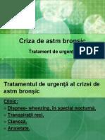 Criza de Astm Bronsic si Astm Cardiac