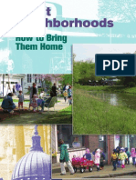Great Neighborhoods - How to Bring Them Home